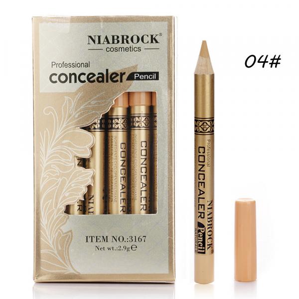 Creion Corector - Concealer Professional NIABROCK - 04 - PlusBeauty.ro 0