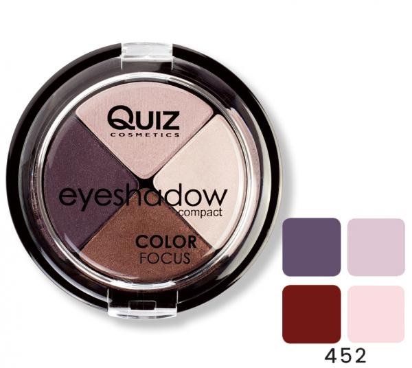 Fard Ochi Quiz Color Focus 4 culori - 452 - PlusBeauty.ro 0