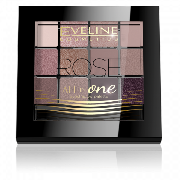 Fard Pleoape All In One Eveline - Rose - PlusBeauty.ro 0