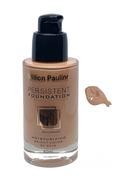 Fond de Ten Million Pauline 3 in 1 Waterproof PERSISTENT Foundation - MP05 - PlusBeauty.ro 0