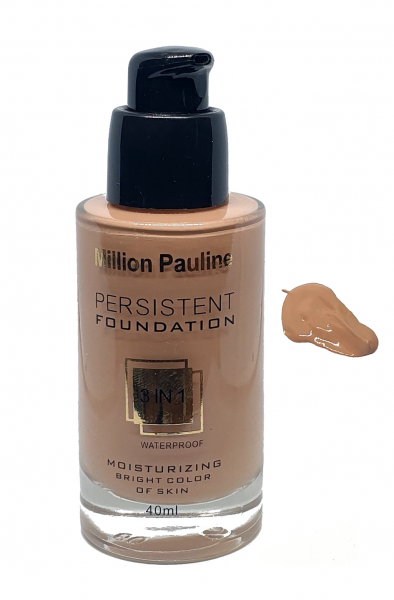 Fond de Ten Million Pauline 3 in 1 Waterproof PERSISTENT Foundation - MP06 - PlusBeauty.ro 0