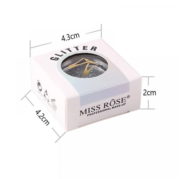 Glitter Miss Rose Shimmer Look - 08 - PlusBeauty.ro 1