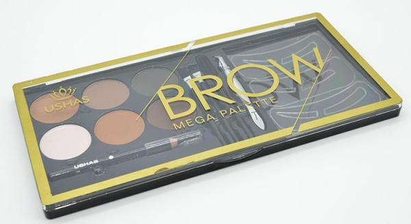 Kit Sprancene Mega Palette Brow USHAS - PlusBeauty.ro 4