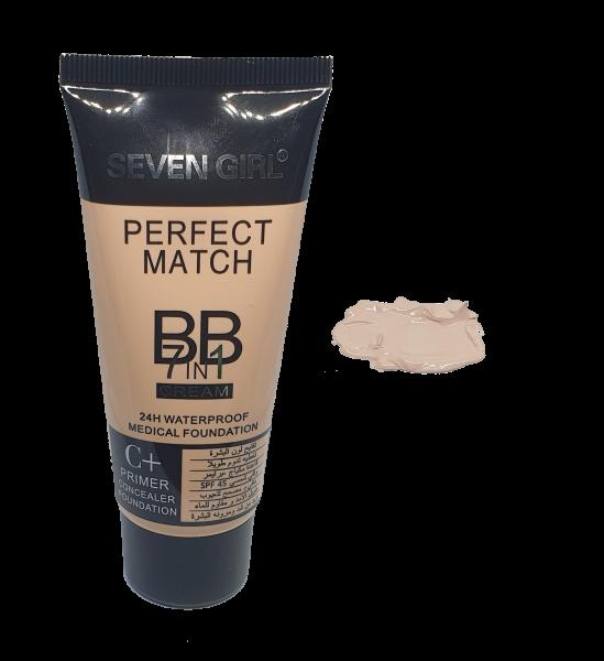 Magic BB Cream 7 in 1 Fond de Ten, Baza, Corector Seven Girl - 101 - PlusBeauty.ro 0