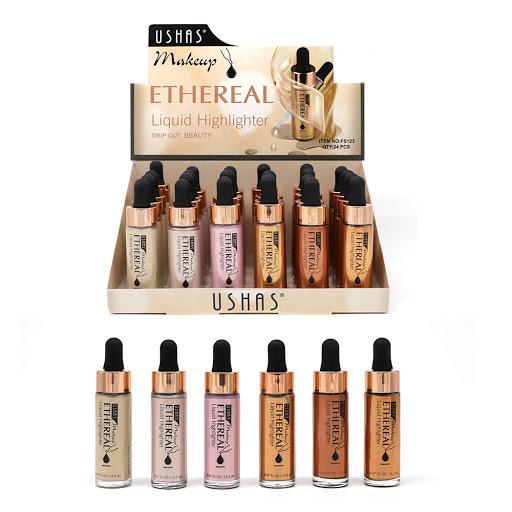 Iluminator Lichid Ethereal - USHAS Makeup - 06 - Plusbeauty.ro 1