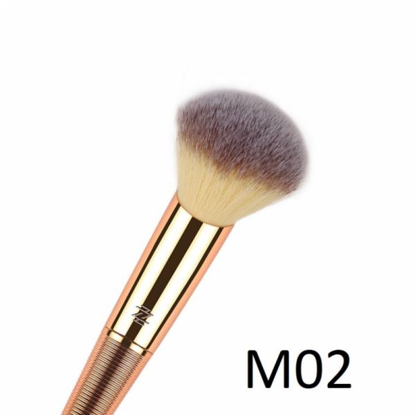 Pensula Profesionala Mineral Powder Brush pentru Pudra - Lila Rossa - PlusBeauty.ro 1