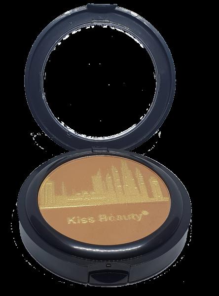 Pudra Compacta City Glow Smooth&Flawless Kiss Beauty - 02 - PlusBeauty.ro 0