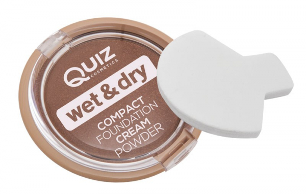 Pudra cremoasa compacta Quiz Wet & Dry - 01 - PlusBeauty.ro 1