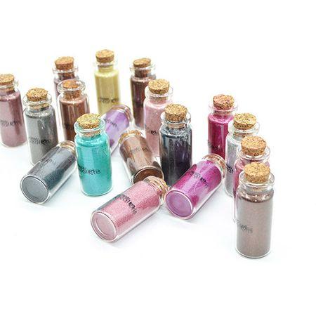Pigment Machiaj Beauty Creations Glitters - Silver Dust - 11 - Plusbeauty.ro 1