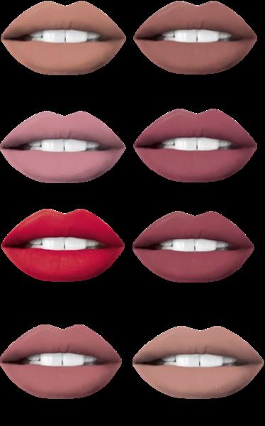 Set Ruj Lichid Mat + Creion Eveline Oh! My Lips - 06 Cashmere Rose - PlusBeauty.ro 3