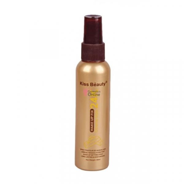 Spray Fixare Machiaj Cinema Gold 24K Makeup Fix Kiss Beauty - PlusBeauty.ro 0