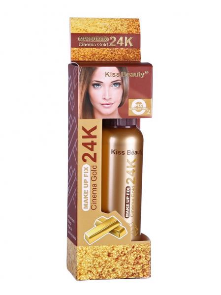 Spray Fixare Machiaj Cinema Gold 24K Makeup Fix Kiss Beauty - PlusBeauty.ro 1