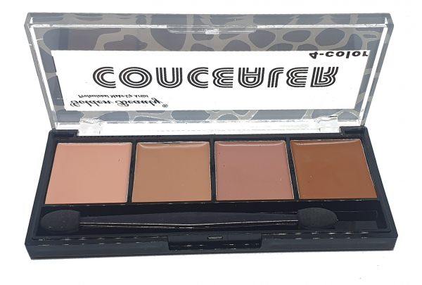 Trusă Corectoare 4 culori concealer, anticearcăn, corector cremă Golden Beauty - 04 - PlusBeauty.ro 0