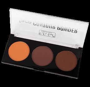 Trusa Contur & Iluminator - Face Contour Powder - 03 - PlusBeauty.ro 0