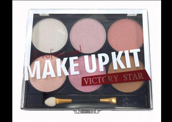 Trusa Fard Victory Star MakeUp Kit - Rose - PlusBeauty.ro 0