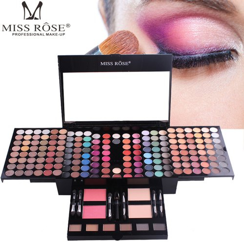 Trusa Machiaj Profesionala Miss Rose Color Spirit 190 culori - PlusBeauty.ro 8