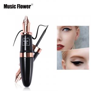 Eyeliner Lichid Matte Waterproof 24H Music Flower - Black0