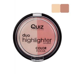 Fard Obraz & Pudra Iluminatoare Duo Highlighter Color Focus Quiz - 0200
