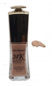 Fond de Ten 24K Gold Foundation Kiss Beauty - 010