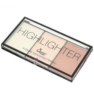 Paleta Iluminatoare Queen 3 culori Highlighter - 012