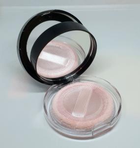 Pudra Blush Pressed Powder cu Oglinda si Burete Max&More - 501 Soft Pink1