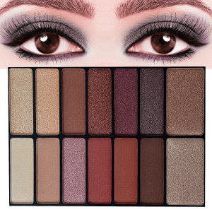 Trusa Machiaj All in One Beauty MakeUP Nudes Palette AnyLady3