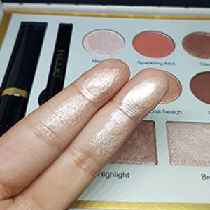 Trusa Machiaj Febble Makeup Combination 4 in 1 Farduri, Iluminatoare, Mascara, Creion Ochi1