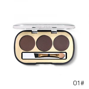 Trusa Sprancene 3 in 1 Eyebrow Powder & Eyebrow Cream Miss Rose - 010