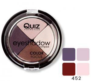 Fard Ochi Quiz Color Focus 4 culori - 4520