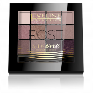 Fard Pleoape All In One Eveline - Rose0