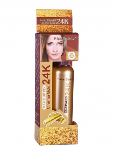 Spray Fixare Machiaj Cinema Gold 24K Makeup Fix Kiss Beauty1