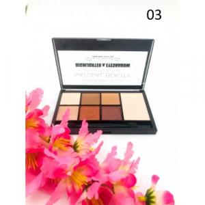 Trusa Farduri & Iluminator Natural Beauty Meis - 031