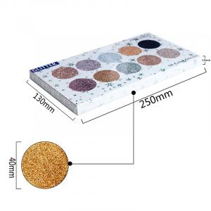 Trusa Glitter Diamant Miss Rose 10 culori - M16