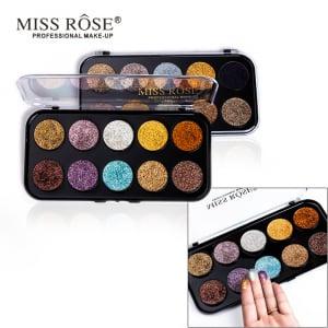 Trusa Glitter Diamant Miss Rose 10 culori - M15