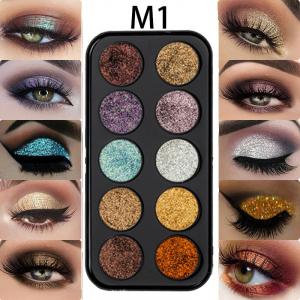 Trusa Glitter Diamant Miss Rose 10 culori - M12