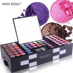 Trusa Machiaj Profesionala Miss Rose BlockBuster 3D cu 148 de nuante5