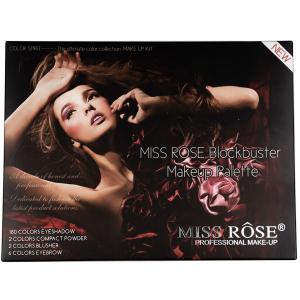 Trusa Machiaj Profesionala Miss Rose Color Spirit 190 culori10