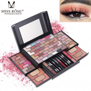Trusa Machiaj Miss Rose 3D Fashion Profesional Make-up Kit0
