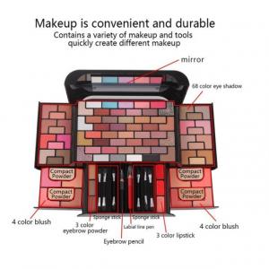 Trusa Machiaj Miss Rose 3D Fashion Profesional Make-up Kit2