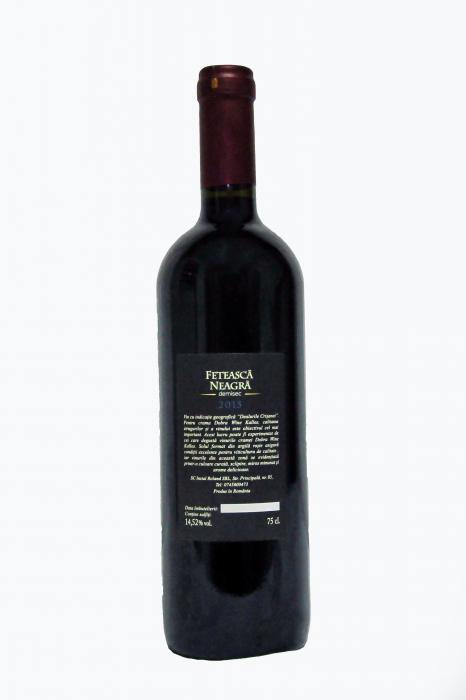 Feteasca Neagra - Rosu Sec 1