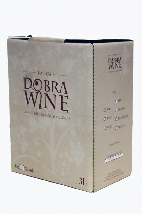 Vin Alb Demisec - Bag in box 9L 2