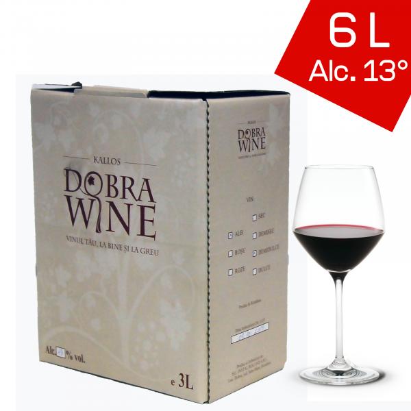 Vin Roșu Demidulce - Bag in box 6L 0