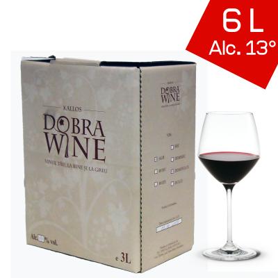 Vin Roșu Demidulce - Bag in box 6L0