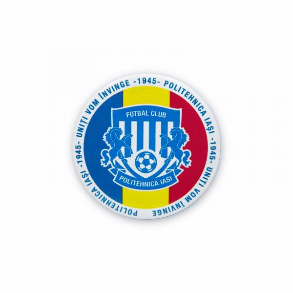 Insigna Poli Iasi Tricolor Ø 58mm 0