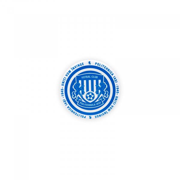 Insigna Poli Iasi Alb-Albastru Ø 32mm 0