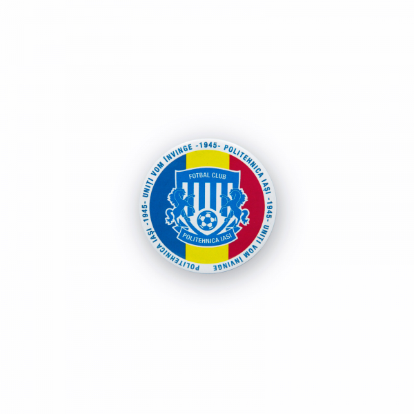 Insigna Poli Iasi Tricolor Ø 32mm 0