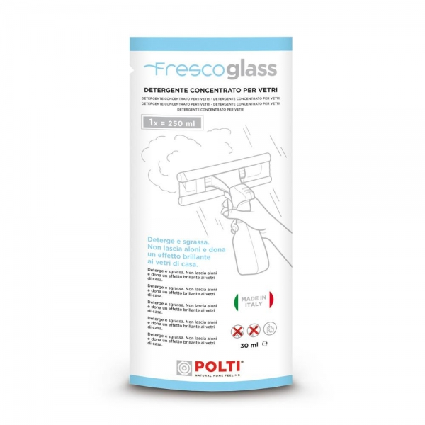 Detergent Geamuri Polti Frescoglass, Compatibil cu Forzaspira AG 100 / AG 130 [1]