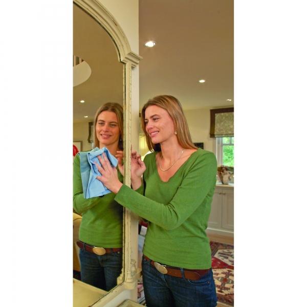Laveta Premium E-Cloth din Microfibra pentru Sticla si Lustruire, Pahare, Geamuri, Vitroceramica, 50  x 40 cm 7