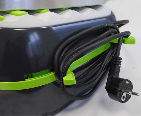 Statie de Calcat Polti Vaporella Forevere Eco, 2000 W, 0.5 l, Talpa Aluminiu, 150 gr/min, Display LCD,  Sistem Anticalcar, Gri/Verde 1