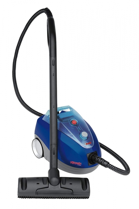 Aparat de Curata cu Abur Polti Vaporetto Flash, 1500 W, 1.5 l, 4.5 Bar, 100 gr/min,  Albastru/Negru 0